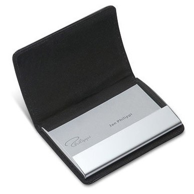 Gianni business card holder real leather with stainless steel gianni business card holder real leather with stainless steel autism gifts uk colourmoves